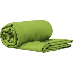 Sea to Summit Silk Stretch Spodenki rowerowe Mumia z kapturem i zakładką na stopy, green